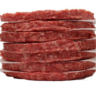 100% Pure Ground Beef Patties
