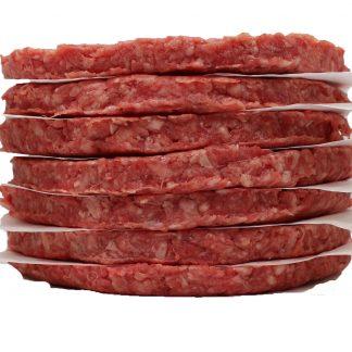 100% Pure Ground Beef Patties